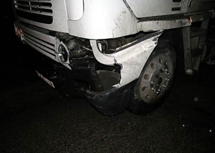 В Мошковском районе грузовик раздавил женщину