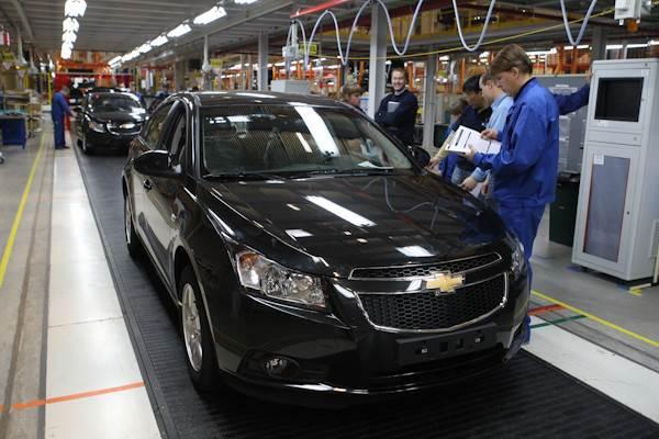 GM прекратил выпуск русских иномарок