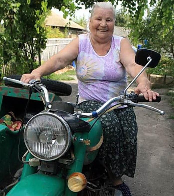 Отобрал у пожилой соседки мотоцикл и попался