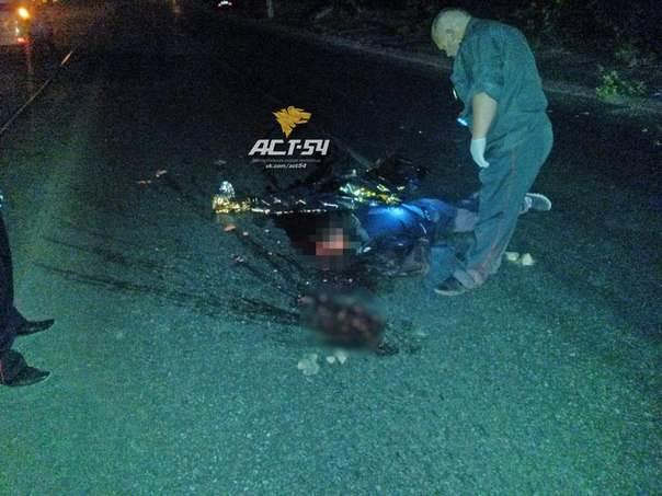 В Новосибирске ночью насмерть сбили пешехода