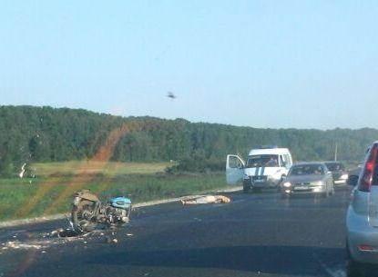 В Искитимском районе насмерть разбился мотоциклист