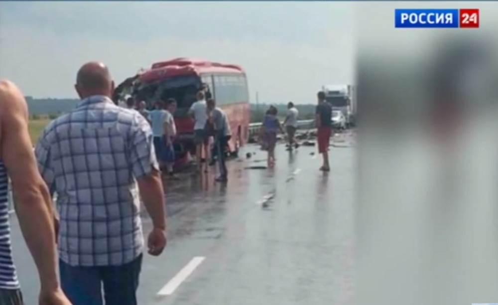 ВИДЕО: В Хабаровском крае в ДТП погибли 16 человек