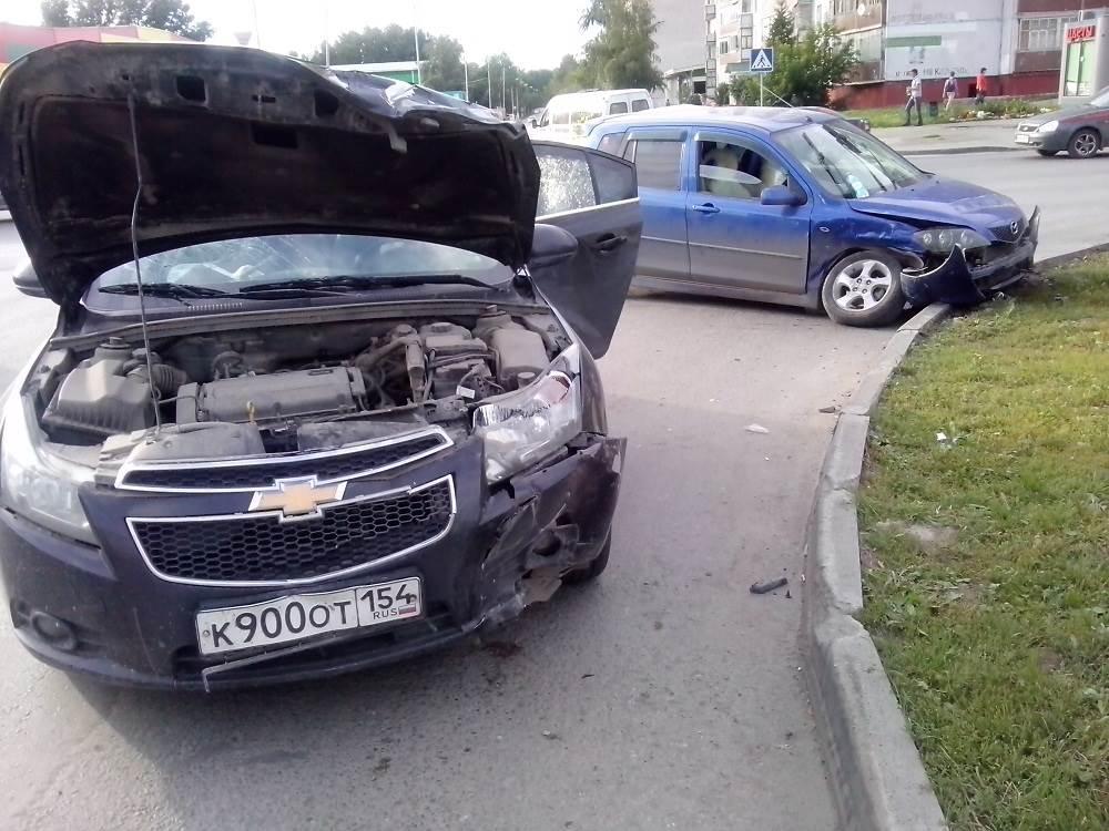 Продолжение истории с «классическим» ДТП на перекрестке в Бердске