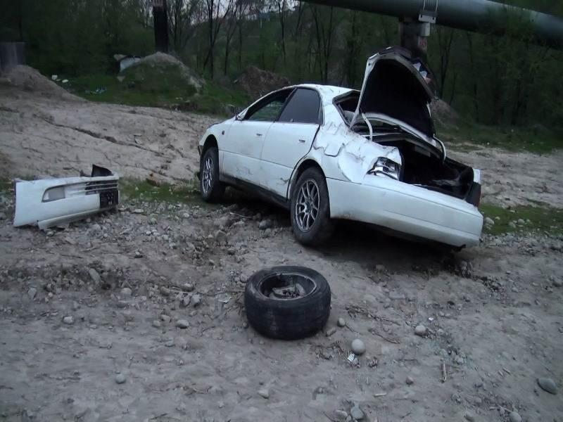 Ночью в ДТП погиб водитель автомобиля и травмирован пассажир