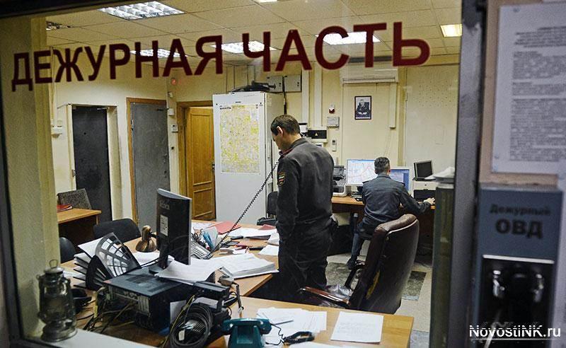 58-летний мужчина умер в одном из отделов полиции в Новосибирской области