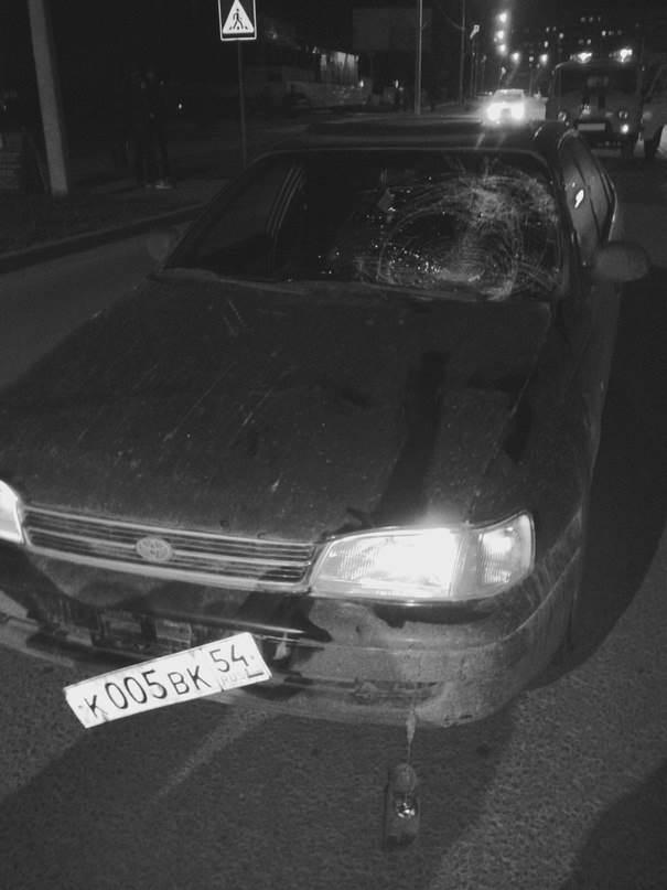 Трое пешеходов пострадали в минувшие выходные в Бердске