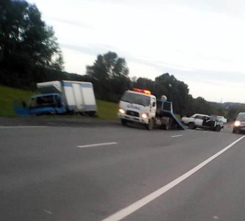 Пьяный водитель протаранил встречный грузовик в Искитимском районе