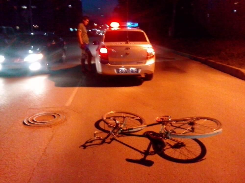 Очередной велосипедист пострадал в столкновении с авто в Бердске