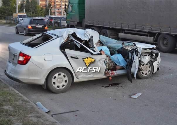 Пьяный водитель убил мать своих детей в Новосибирске