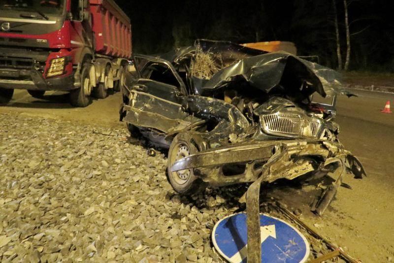 Водитель «Волги» чудом выжил в ДТП на М-52 в Бердске