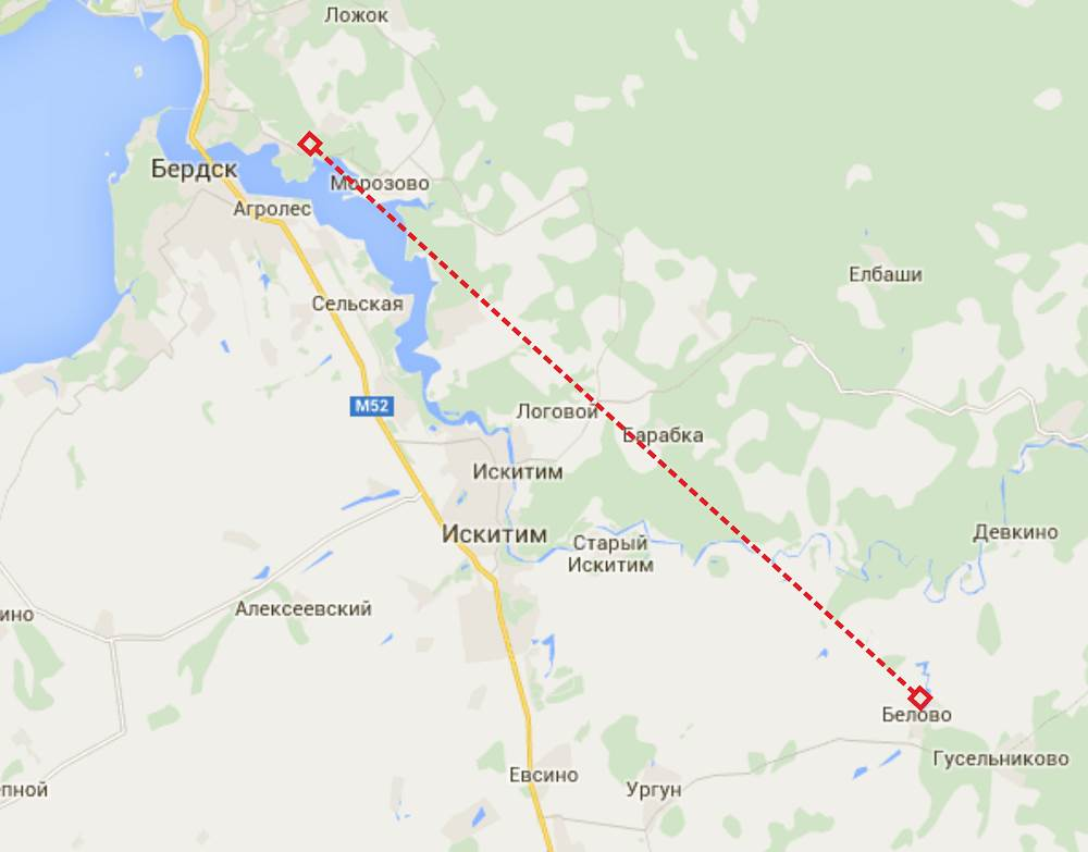 «Беларус» из Белово найден с помощью ГЛОНАСС под Бердском