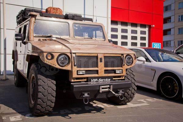 В Новосибирске продается автомобиль «от Кончаловского»