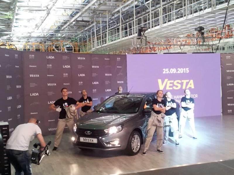 LADA Vesta: Из какого теста?