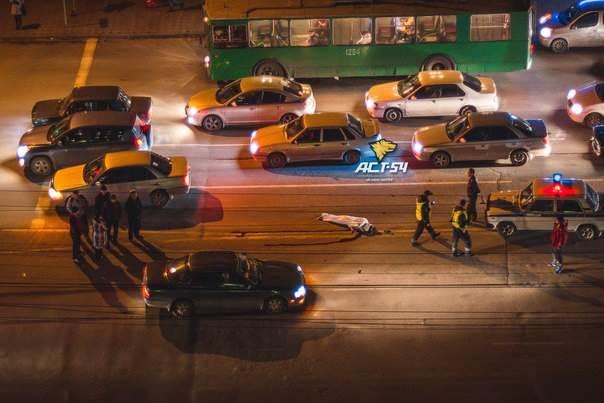 В Новосибирске насмерть сбит пешеход