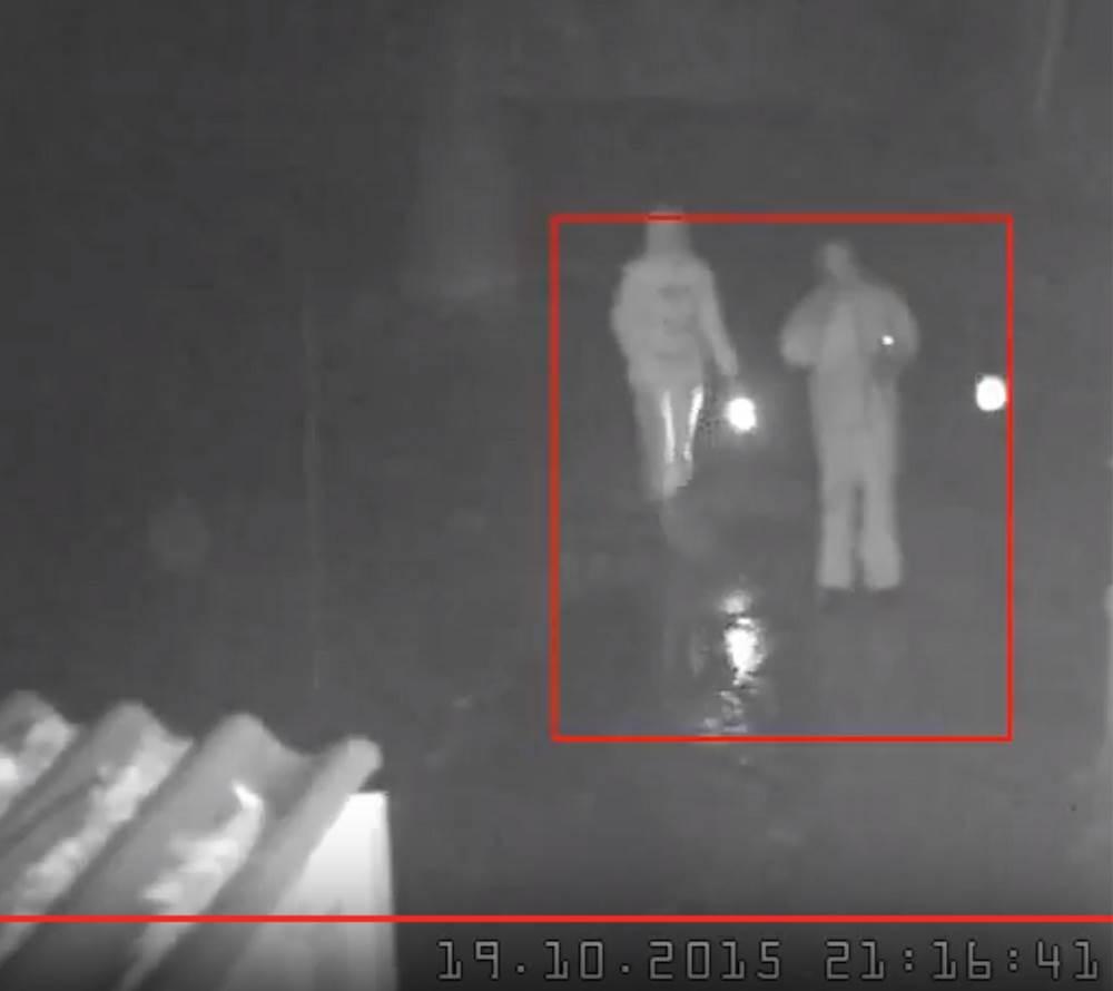 Камера наблюдения поселкового продмага зафиксировала НЛО?