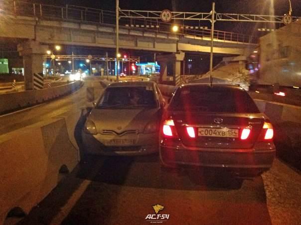ФОТОФАКТ: Запутался (-лась) на южном въезде в Бердск