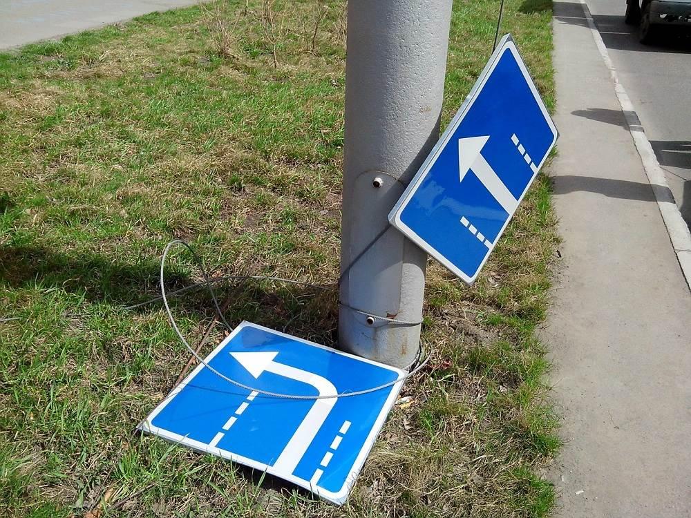 Упавший знак травмировал ребенка в Бердске. Кто ответит?