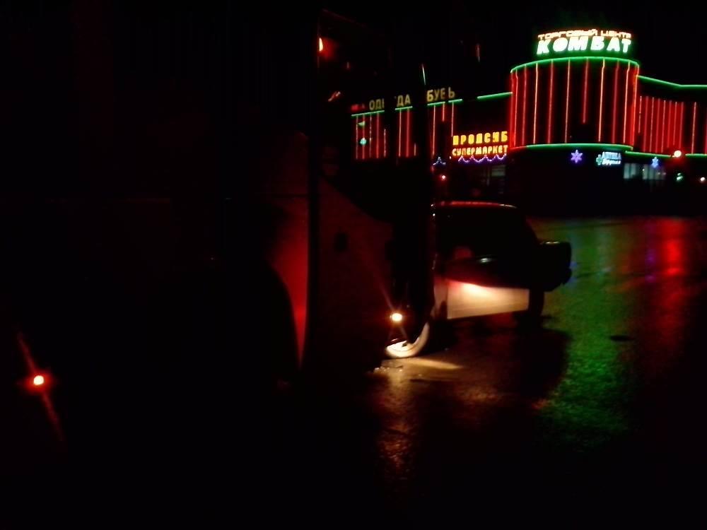 Совершив ДТП, водитель ВАЗа сбежал с места происшествия
