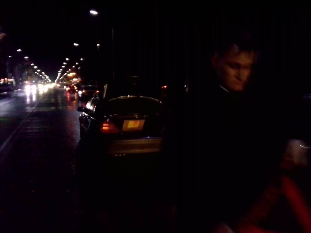 «Мерседес» сбил «черного» пешехода на переходе в Бердске