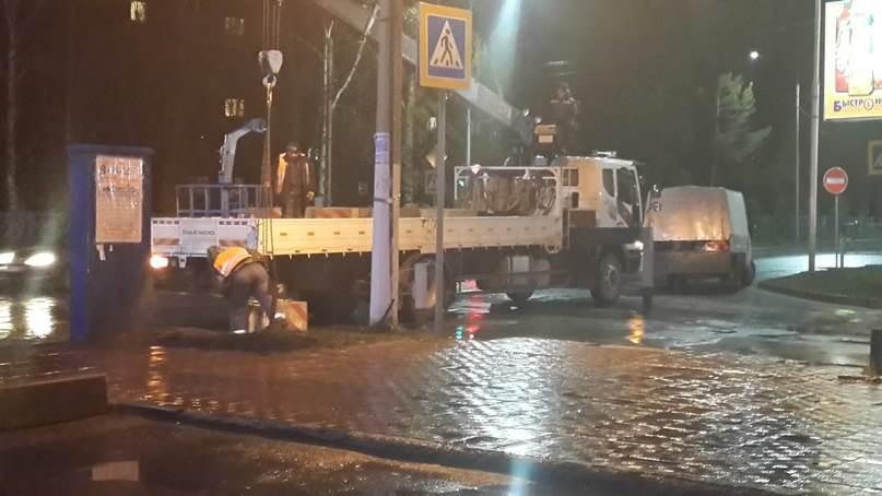 Изменено движение транспорта в центре Бердска