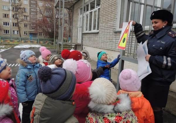 Безопасный маршрут от дома до детсада узнали дети Бердска