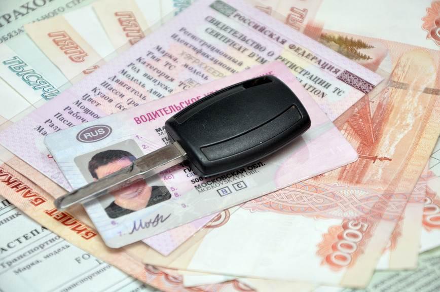 Полмиллиона российских водителей лишатся прав за долги