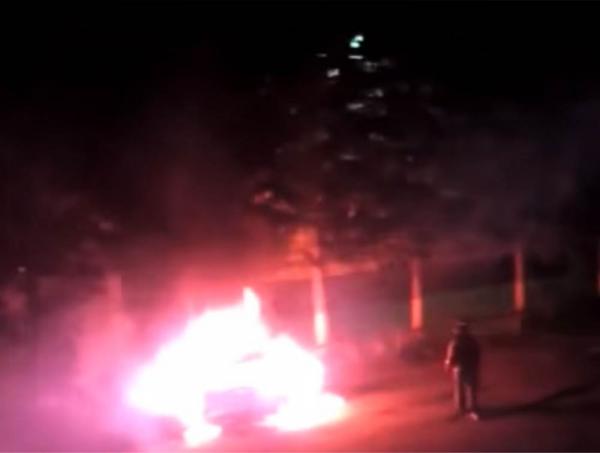 Врачу-травматологу из Новосибирска сожгли внедорожник за 2 миллиона рублей