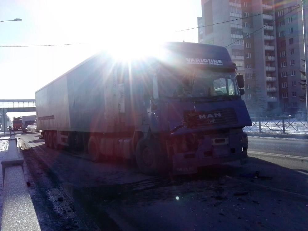 «Репетиция» Всероссийской акции дальнобойщиков в Бердске