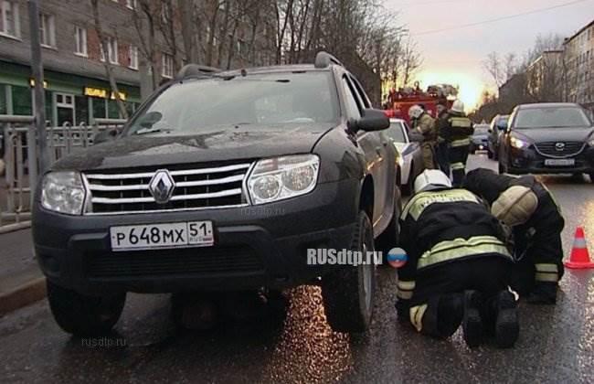 Автомобилист укатал насмерть пешехода днищем своего авто
