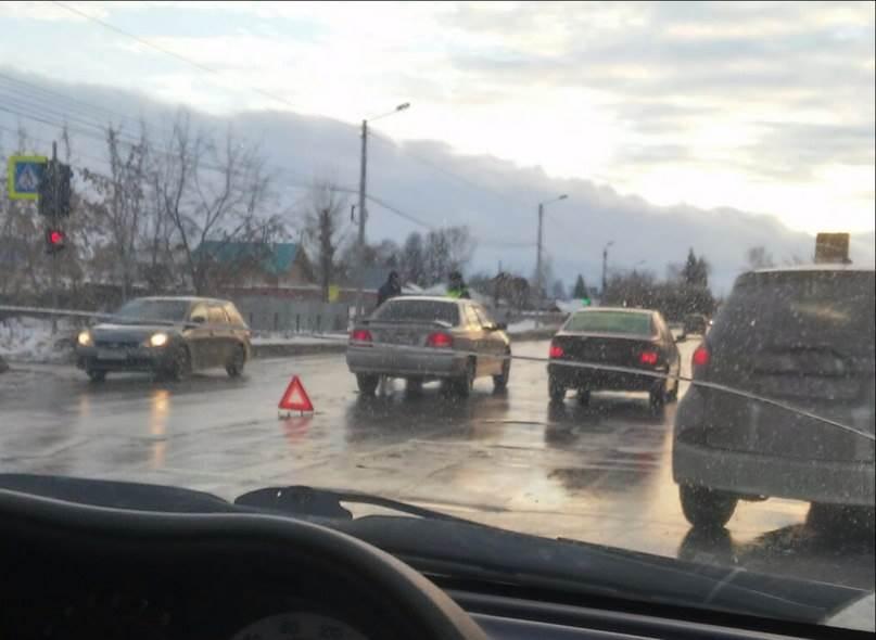 Toyota сбила женщину у микрорайона «Молодежный» в Бердске