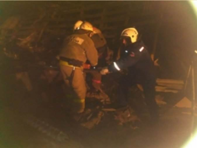 В результате взрыва газа в Лебедевке погиб мужчина