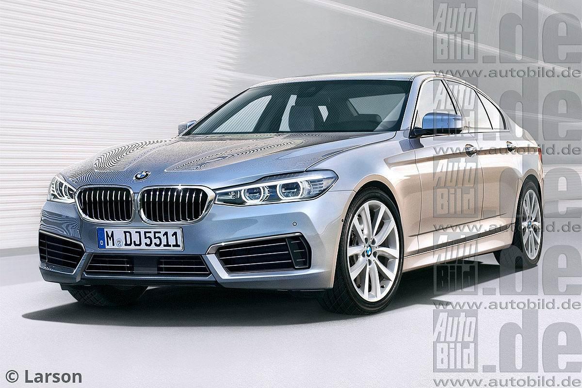 Раскрыты первые подробности о новой BMW 5-й серии