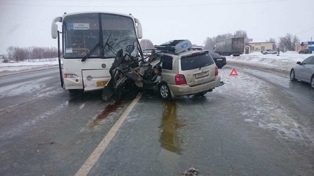 В ДТП под Бердском погиб водитель «Тойоты»