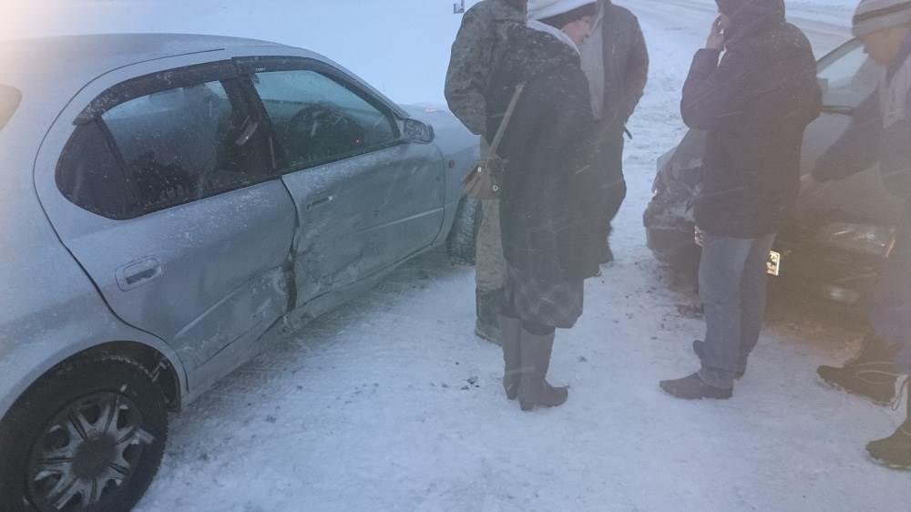 Не задалось утро в Бердске для водителей двух «Тойот»