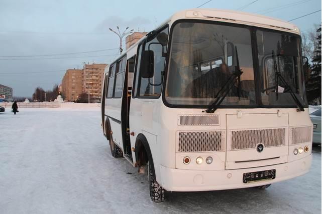 ФОТОФАКТ: Бердск купил для АТП новый ПАЗ