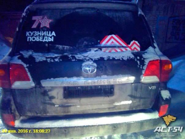 Журналисты выясняли, сам ли хозяин угнанного джипа нашел его в Новосибирске?