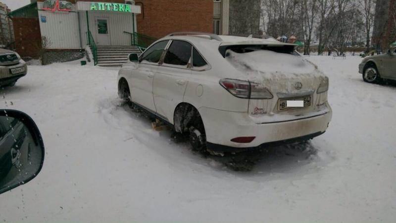 На 2 млн наворовали колес «шиномонтажники» в Новосибирске, Бердске и Искитиме