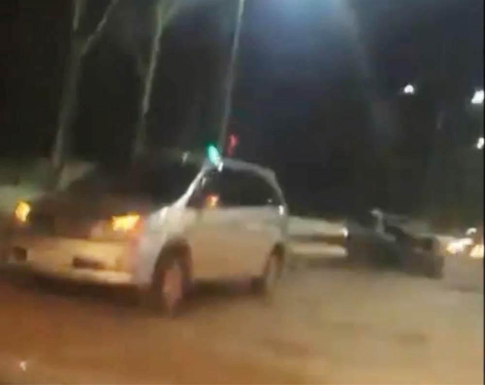 Разбил «Висту» на ночной дороге в Бердске и попал в больницу