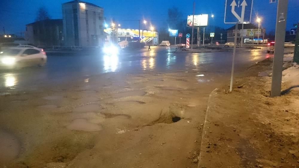 Мэрия Бердска: Подрядчики бесплатно отремонтируют дороги
