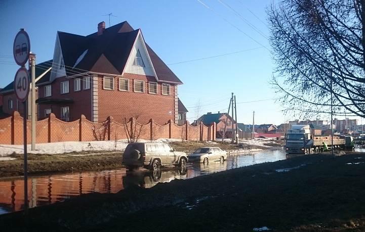 Паводок в Бердске подкрался незаметно (видео)