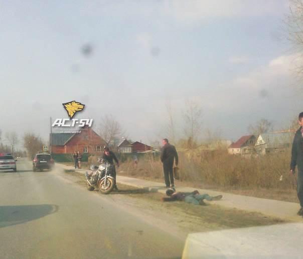 Очередное ДТП с мотоциклистом в Искитиме. Пострадали три человека