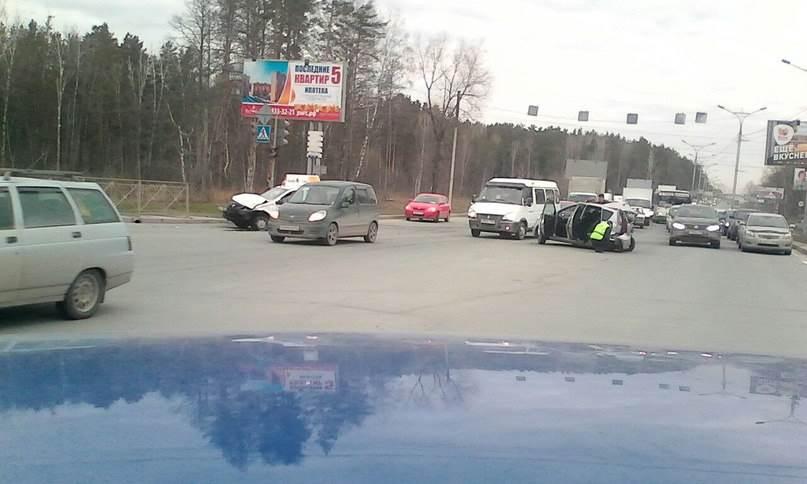 В аварии на Бердском шоссе сегодня погибла женщина