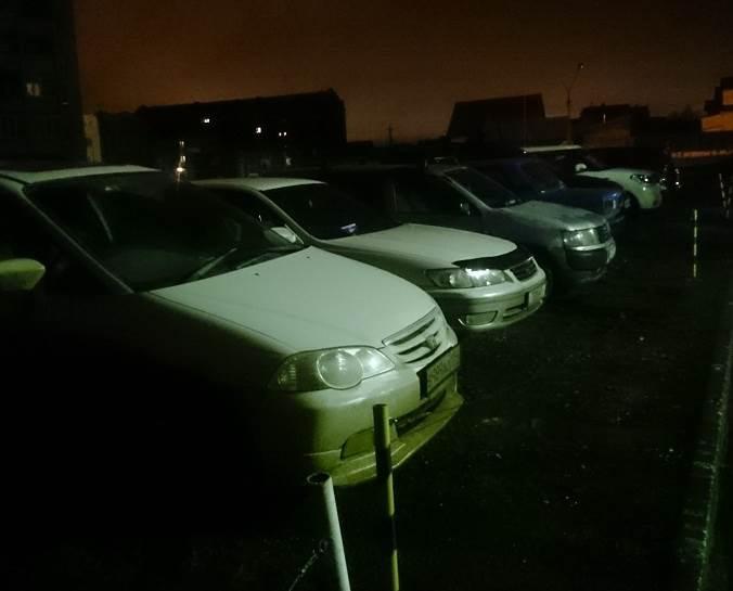 Ох, уж эти тесные бердские парковки!