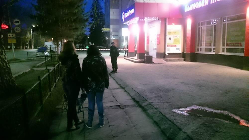 Антитеррор: Как в Сбербанке в Бердске искали «бомбу»