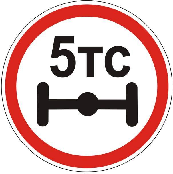 Весеннее ограничение на проезд грузовых авто по дорогам НСО