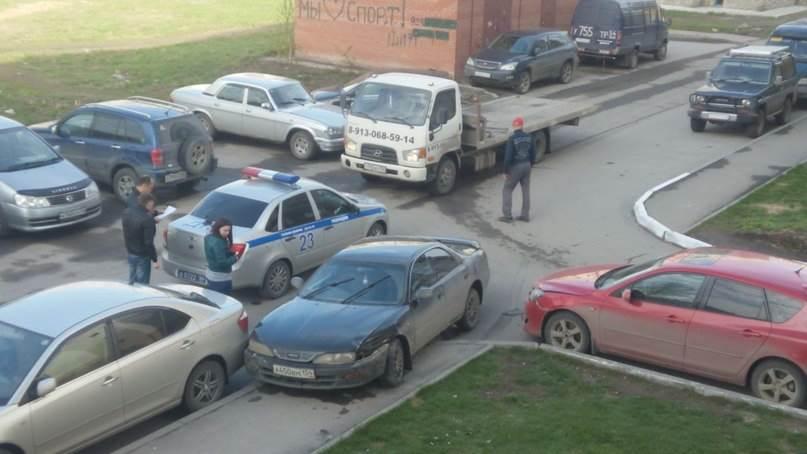 Угнавший «Тойоту» и совершивший на ней ДТП бердчанин задержан