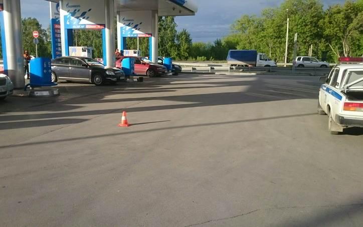 Автоледи, наехавшая на автозаправщика в Бердске, оштрафована