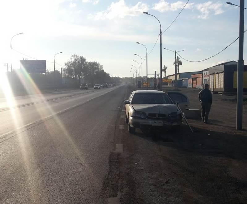 Беженец из Луганска сбил камеру фотофиксации в Бердске