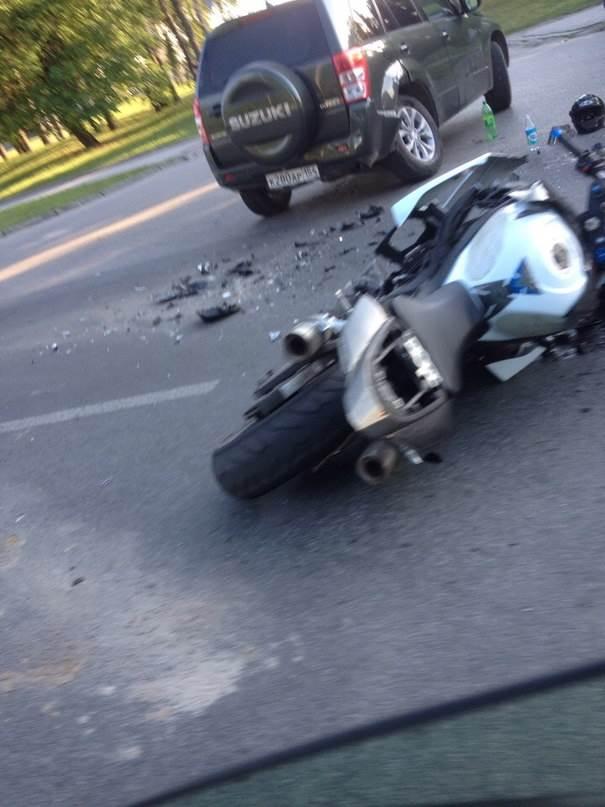 Мотоциклисты бьются на дорогах Новосибирской области