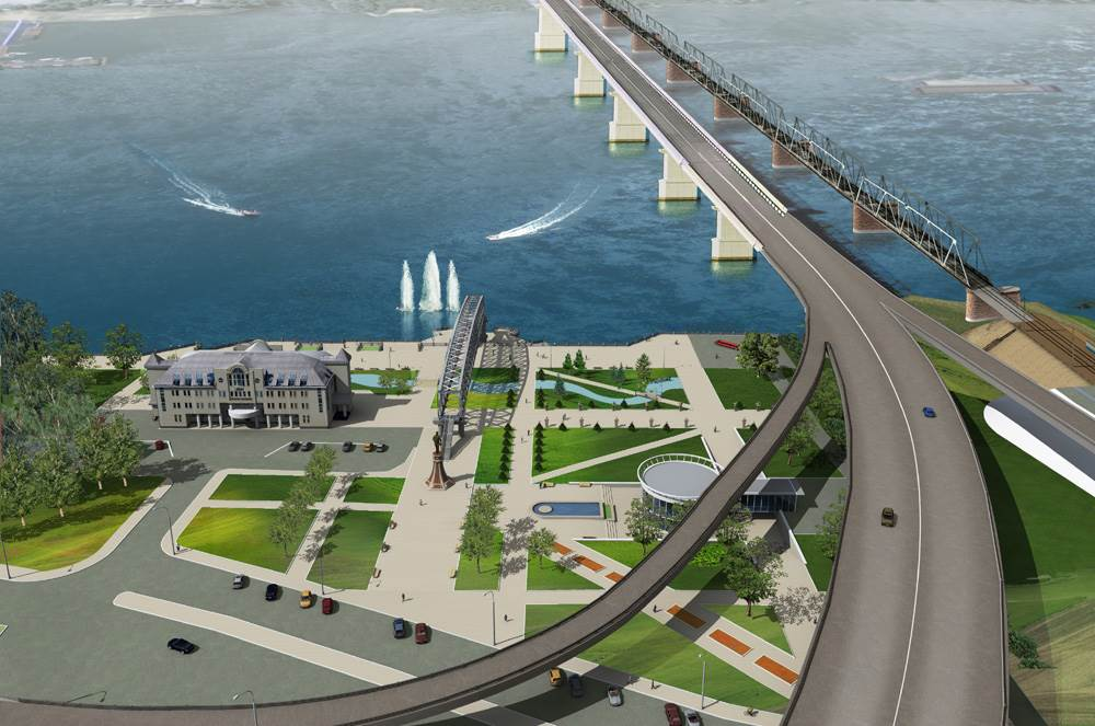 Обращение к Путину по поводу платного моста в Новосибирске